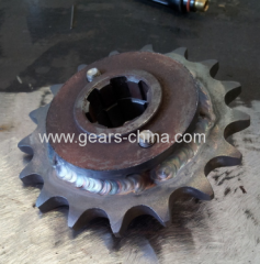 China Factory Directly Sell Weld-on Finish Sprocket /welding finish sprocket (ANSI) With Hub