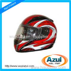 Motorcycle Full Face ABS Helmet