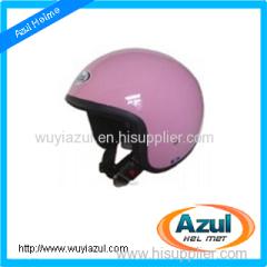 Retro Motorcycle Helmet man