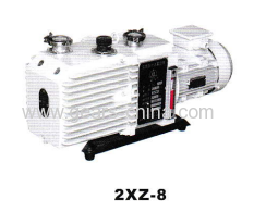 china manufacturers 2xz-8 rotary vane vacuum pump