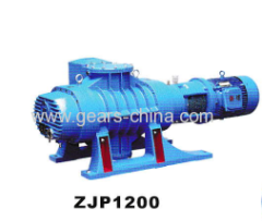 Lary high pressure ZJP 1200 roots vacuum pump/two stage roots vacuum pump