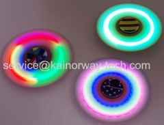 2017 Latest Design Hand Spinners Flashing Fidget Spinners With LED Light Multi Colour Shining Premium Anxiety Finger Toy