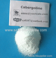 Cabergoline 81409-90-7 Pharmaceutical Raw Materials Dostinex for Parkinson's Disease