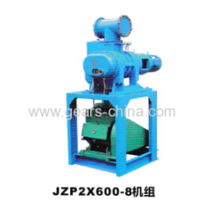 china manufacturers JZP2X600-8 vacuum pump