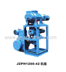Hot sale Solar powered water pump with energy saving JZPH1200-42 vacuum hydraulic concrete system factory