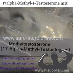 High Success Rate to Pass Customs Anabolic Steroid 17alpha-Methyl-1-Testosterone