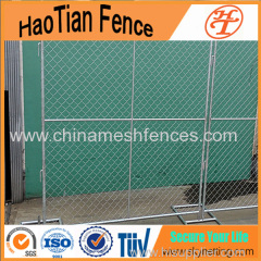 Galvanized Welded Pipe Steel Chain Link Wire Privacy Fence