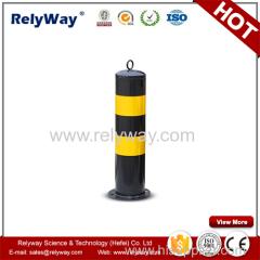 Steel Column Warning Post
