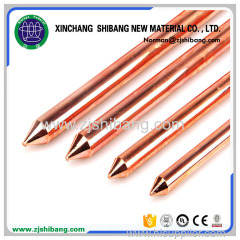 Manufacturer of copper weld ground rod