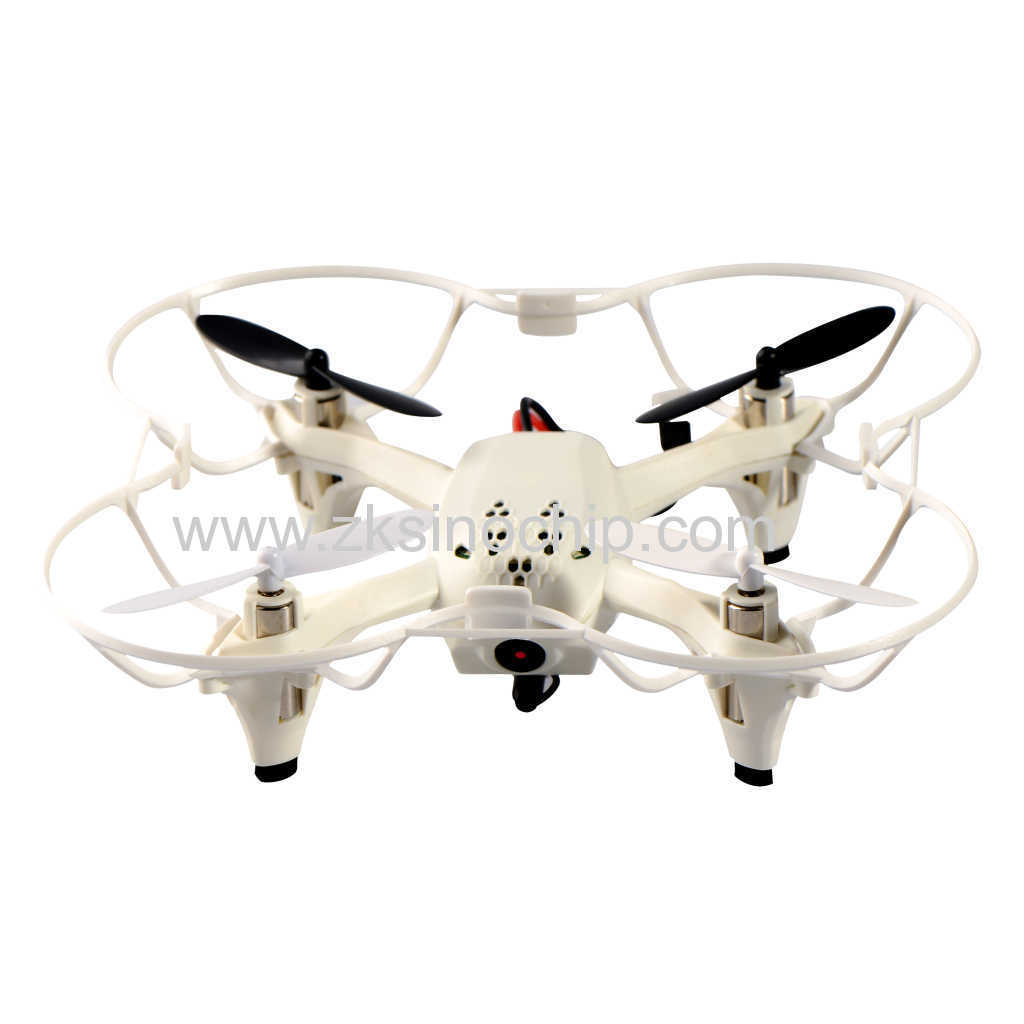 MINI RC plastic toy drone with 4 propellers for children play