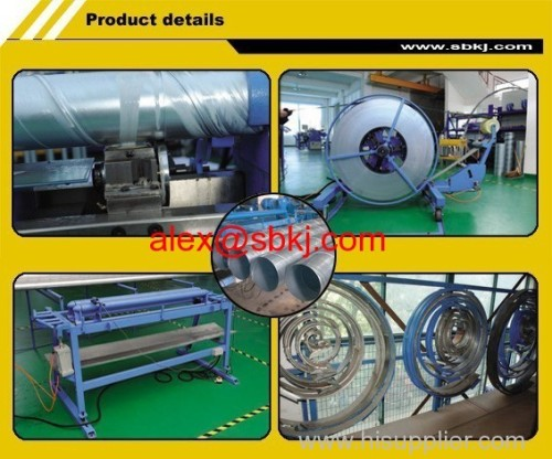 Spiral Tubeformer Ducting Machine