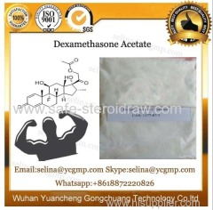 Anti-Inflammatory raw pharm white powder Dexamethasone Acetate