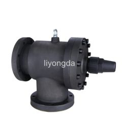 Screw compressor refrigeration shut off valve