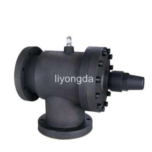 Screw compressor refrigeration shut off valve