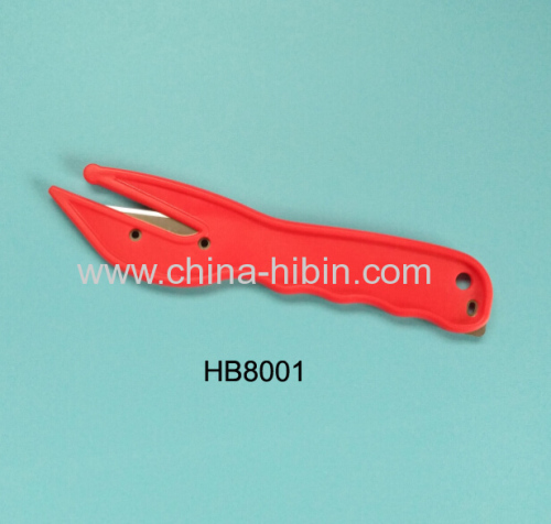 Red Safety Knife Pallet Shrink Wrap Opener Film Slicer Strap Slitter Box opener