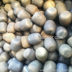 China supply ball mill forged steel sections forged steel cylpebs for copper mines Algeria
