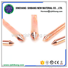 Copper Bonded One-sided Plat Ground Rod