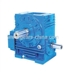 china manufacturer worm gear reducer