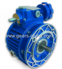 speed variator with motor made in china