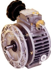 Combination of UDL Stepless Speed Variator andWorm Gear Reducer