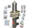 Customized 10KN Cubic Worm Gear Screw Lift Screw Jacks for Lifting Platform Tr 20x4