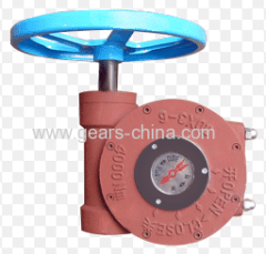 china manufacturer worm gear operators