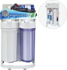 6 Stage Reverse Osmosis System water filter with frame and grauge