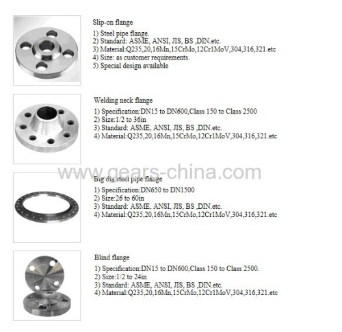 RFWN carbon steel flange 300# ansi b16.5