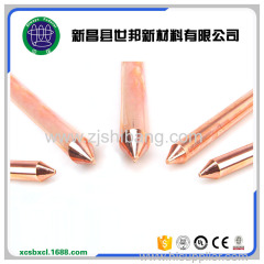 Copper Plated Threaded Ground Rod