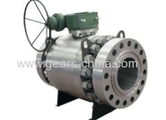 Válvula de bola de tres piezas de alta presión