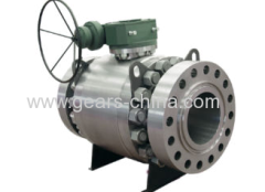 high pressure three piece ball valve