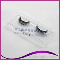 OEM customed packaging 3d real mink fur eyelashes