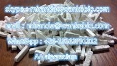CAS 28981-97-7 new good quality 99.7% A lprazolam Alp razolam Alpra zolam mail/skype:miranda(@)wankebio.com