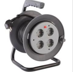 Portable Electric Cable Reel 220V or 380V with 30m Cable