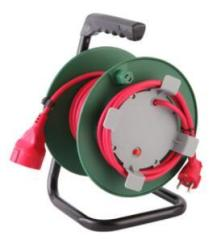 Big selling saudi arabia electrical 3 pin extension plug retractable cable reel