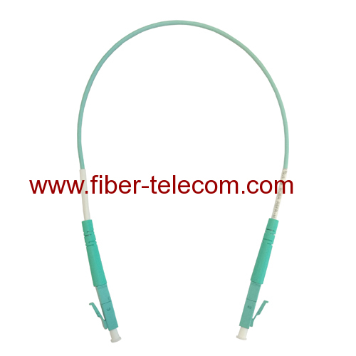 LC to LC OM3 Simplex Fiber Optical Patch Cable 3M