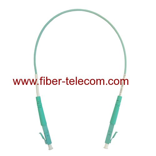 LC to LC Multimode Simplex Fiber Optical Jumper 1M