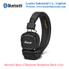 Marshall Major II Bluetooth Headphone In Black Color By Leader Industrial Co Limited ( leaderbluetooth )