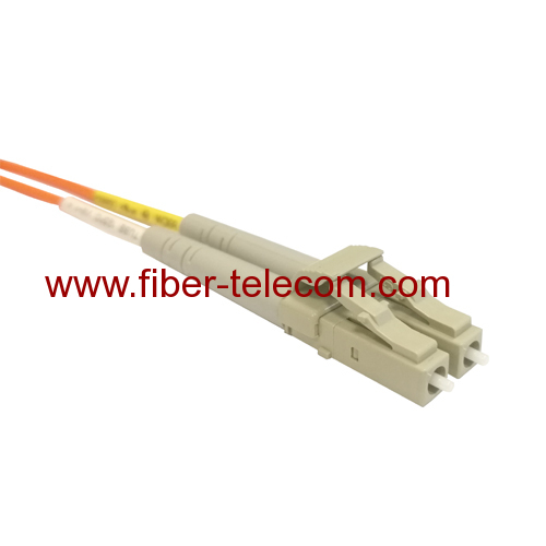 LC to LC MM Duplex Fiber Optical Patch Cable 1M