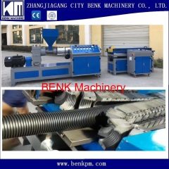 PE/PP/PVC high speed corrugated pipe extrusion line