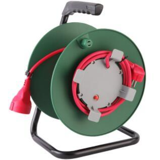 15m 25m 30m 40m 50M 4 gang German socket Cable Reel with Thermal Cut-Out
