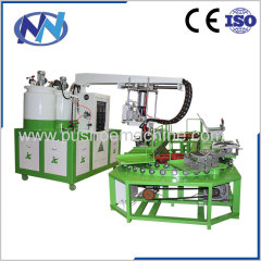 slipper sandal PU Shoe pouring Machine