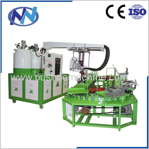 shoe pouring machine with oven and production line