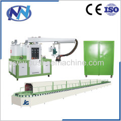 PU shoe injection machine for beach sandals