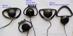 Single-side earphone ear hook headphone earpiece for tour guide system