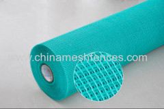 160g/m2 5mmx5mm Alkali Resistant Colored Fiberglass Mesh Cloth