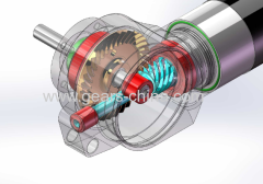 china manufacturer right angle gearmotor