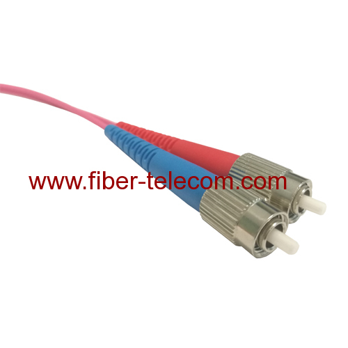 FC to FC MM Duplex Fiber Optical Patch Cable 3M