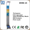 Spanish Coin operated electronic platform weighing scale with height measurement