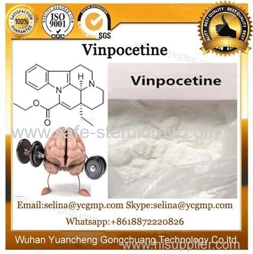 CAS 42971-09-5 Cerebrovascular Expansion Nootropics Powder Vinpocetine